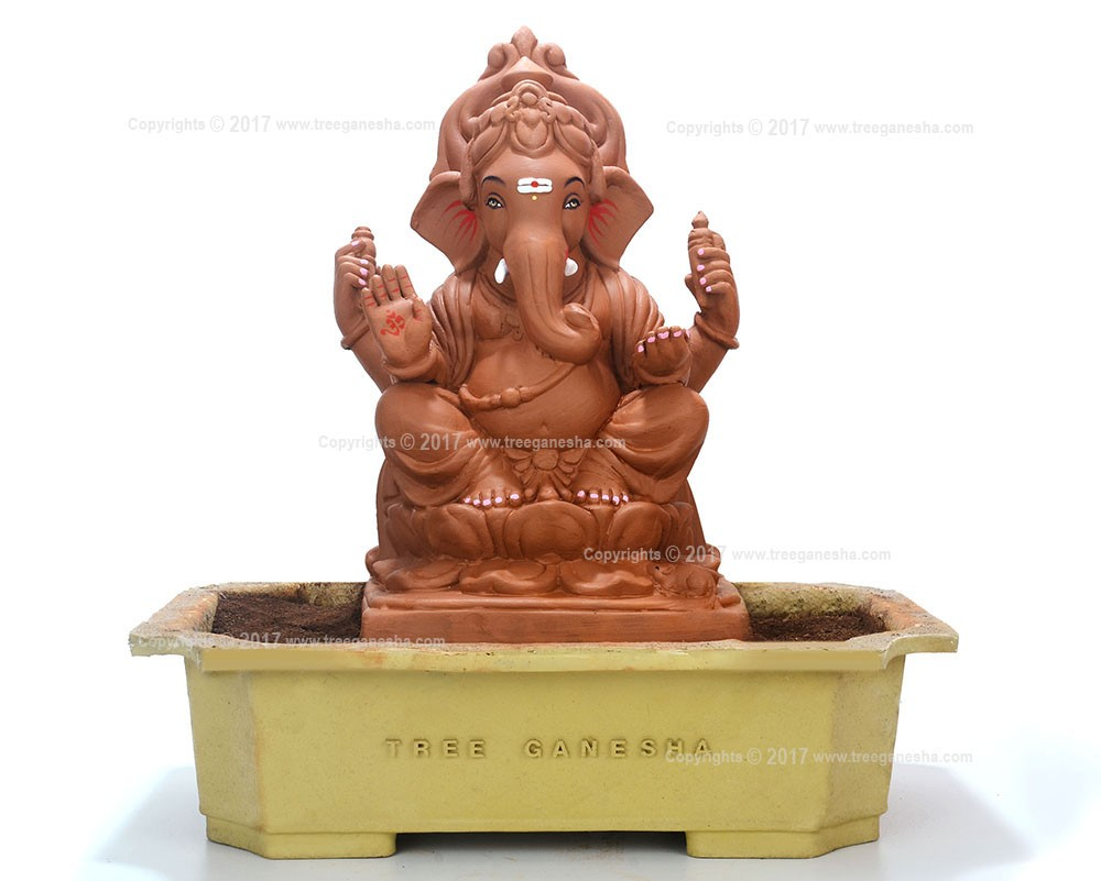 15inch Tree Ganesha