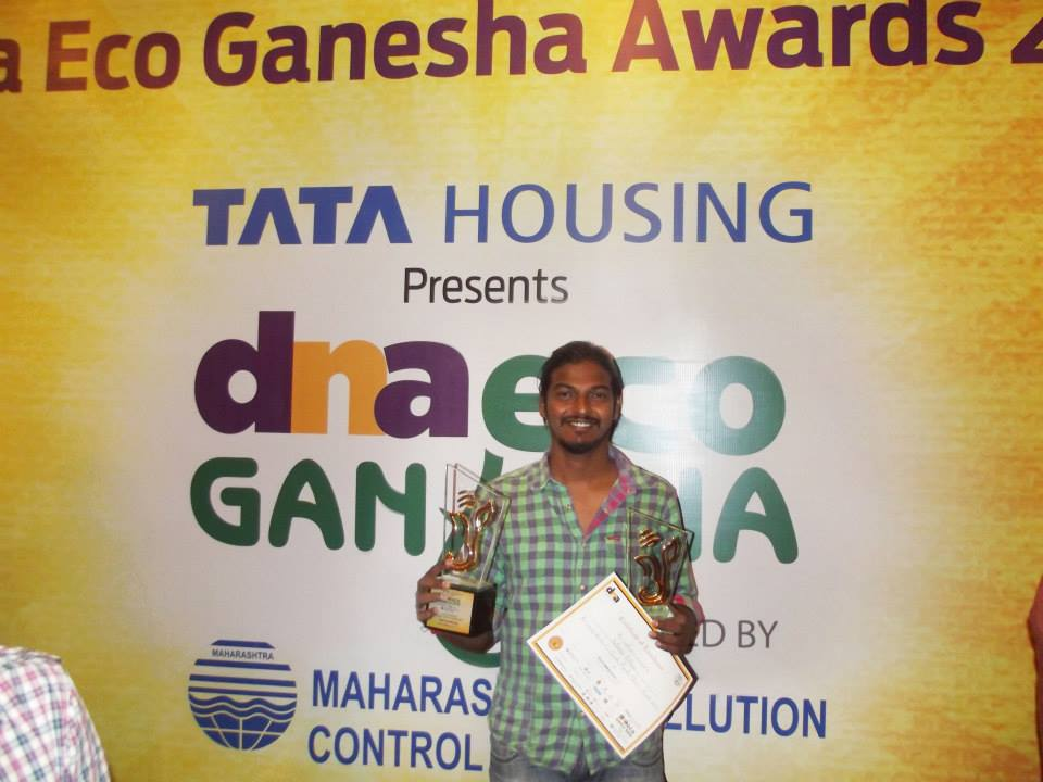 DNA newspaper, Eco-frindley awards, treeganesha, #treeganesha
