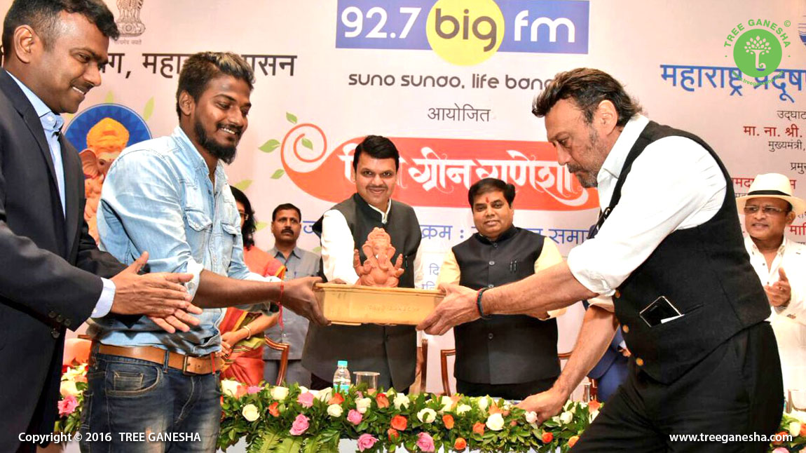 Felicitated By guest of honours and HON' CM Devendra Fadnavis