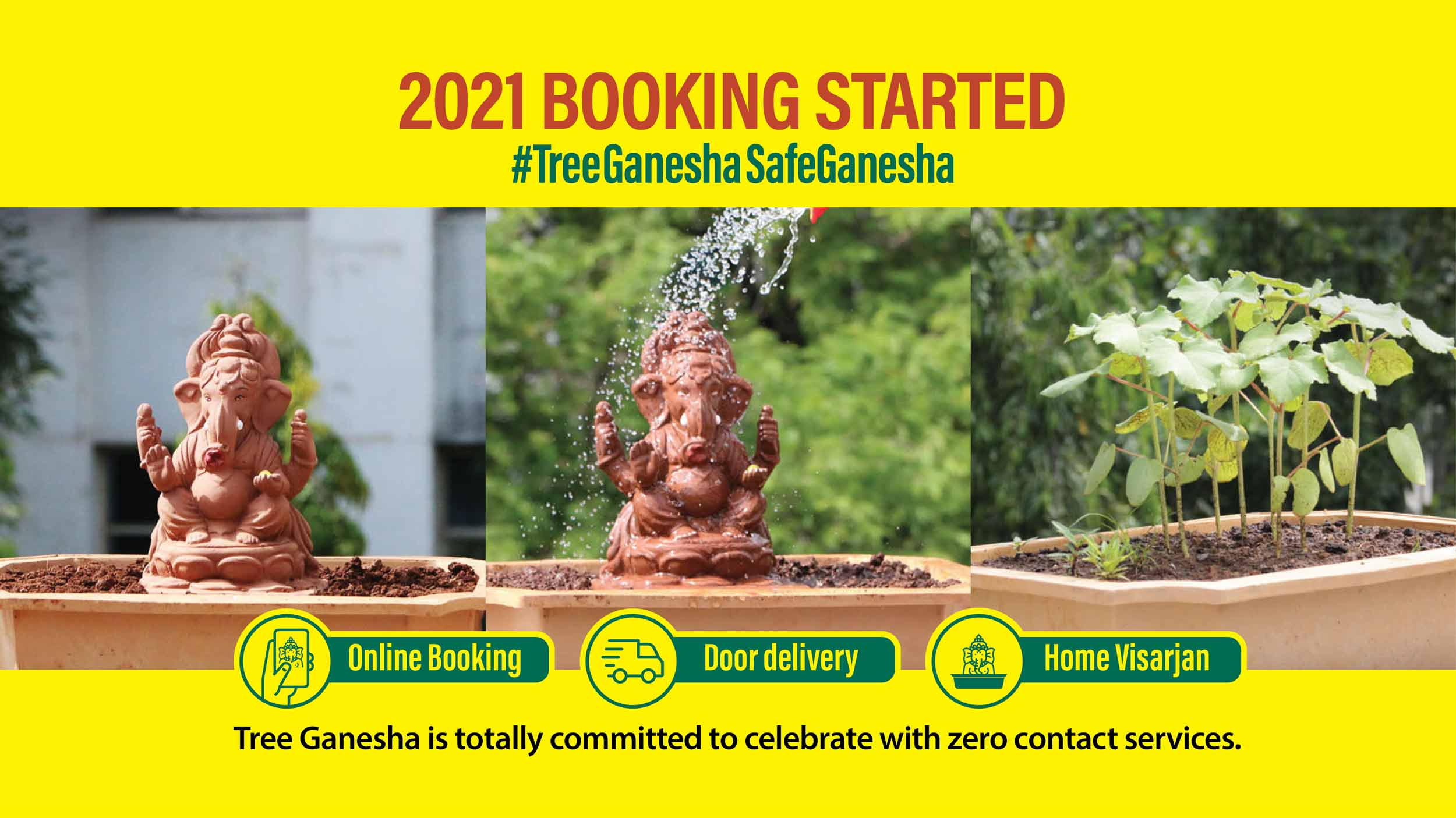 2021 Booking started form
