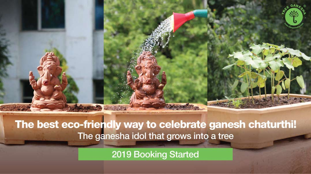 The best eco-friendly way to celebrate ganesh chaturthi!