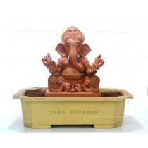 12inch Eco-Friendly Ganpati Murti| Tree Ganesha