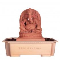 12inch Eco-Friendly Ganpati Murti | Tree Ganesha (Swayambhu)