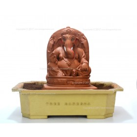 12inch Eco-Friendly Ganpati Murti | Tree Ganesha (Swayambhu)
