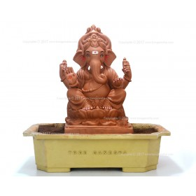 15inch Eco-Friendly Ganpati Murti | Tree Ganesha