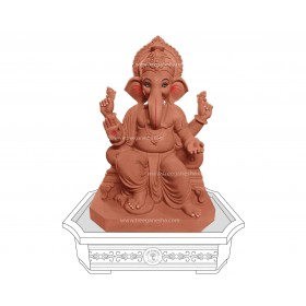 20inch Eco-Friendly Ganpati Murti | Tree Ganesha
